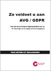 Zo voldoet u aan AVG / GDPR